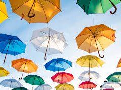 De geschiedenis van de paraplu